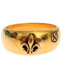 Nialaya Plated Ring - Geel
