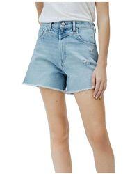 Pepe Jeans Shorts - Blauw