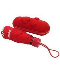 Moschino Ombrello retraibile Shadow bear supermini O22Mo13 8042 - Rosso