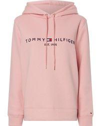 Tommy Hilfiger Regular Hoodie Hoodie - Roze