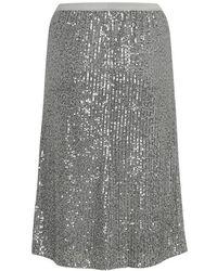 Soaked In Luxury Nicoline Skirt - Grijs