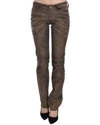 Just Cavalli Low Waist Skinny Denim Trousers - Zwart