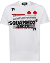 DSquared² Since T-shirt - Bianco