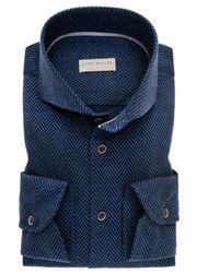 John Miller Shirt - Bleu