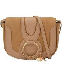 See By Chloé Hana mini bag in leather - Marrón
