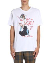 Vivienne Westwood Round collar t-shirt - Blanc
