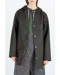 Stutterheim Stockholm Raincoat Negro