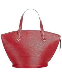 Louis Vuitton Correa corta epi saint jacques pm de segunda mano - Rojo