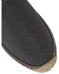 Brunello Cucinelli Flat shoes - Schwarz