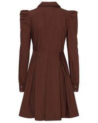 Custommade• Lucy Dress Marrón