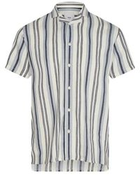Minimum Emanuel 8046 Shirt - Blauw
