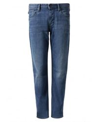 Armani 5 Pockets Slim FIT Jeans - Blau