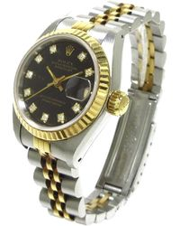 Rolex Seminuevo oyster perpetual lady datejust 69173g - Gris