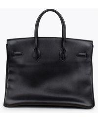 Hermès Bolsa Ardennes Birkin 35 Negro