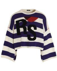 Raf Simons Sweater - Blauw