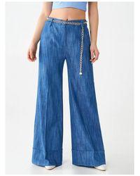 Rinascimento - Pantaloni Flare Cfc0102325003 - Lyst