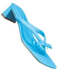 BY FAR Mit Schleife sandals - Blau