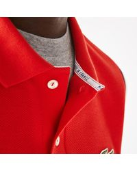 Lacoste Made in France Polo Rojo