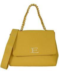 Ermanno Scervino Small Bag Flap Eba Winter Plain 12401034 - Geel