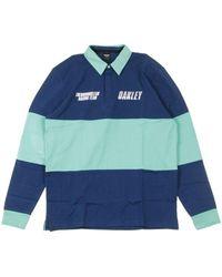 Oakley Long Sleeves Polo Racing Team - Blauw