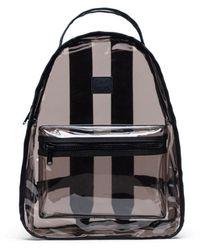 Herschel Supply Co. Nova Mid Volume Clear Backpack - Zwart