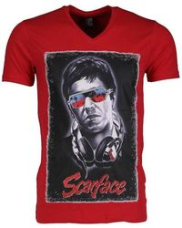 Chanel Vintage T-shirt - Scarface - Rouge