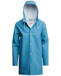 Stutterheim Stockholm Raincoat - Blauw