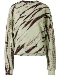 Proenza Schouler Tie Dye Sweatshirt - Groen