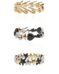 Zadig & Voltaire Set of three rings - Gelb