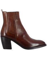 Alberto Fasciani - Boots en cuir Amina 54027 Bruciato - Lyst
