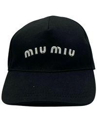 Miu Miu Cap - Schwarz