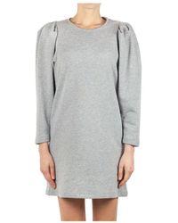Soallure Kleid S1047 - Grigio