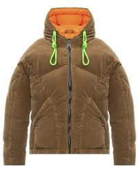 Khrisjoy Down Jacket With Logo - Bruin