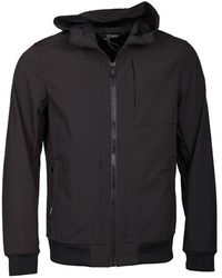 Airforce Softshell Jacket Chest Pocket - Zwart