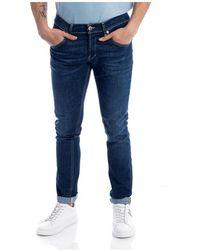 Dondup Pantalone Ritchie - Blu