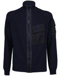 C P Company Cardigan - Blauw