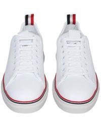 Thom Browne Tennis Sneakers - Wit