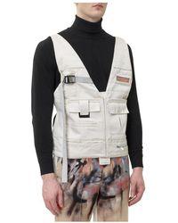 Heron Preston Safety vest - Gris