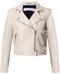 IRO Leather Jacket - Naturel