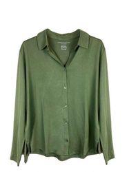 Majestic Filatures Camisa - Verde