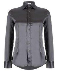 Robert Friedman Shiny blouse - Grigio