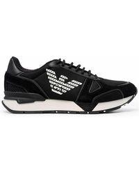 Emporio Armani Sneakers - Zwart