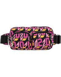 DSquared² Belt Bag With Logo - Roze