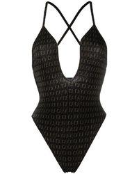 Fendi Swimsuit - Zwart