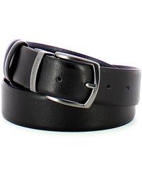 Piquadro Reversible belt - Negro