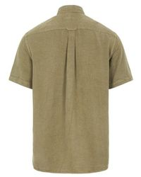J.Lindeberg Comfort SS Reg Shirt Verde