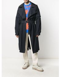 Mr & Mrs Italy Nick Wooster Capsule Trench IN Cotton - Blau