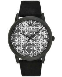 Emporio Armani Watch - Zwart