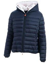 Save The Duck Coat - Blauw