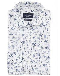 Cavallaro Overhemd Palma - Wit
